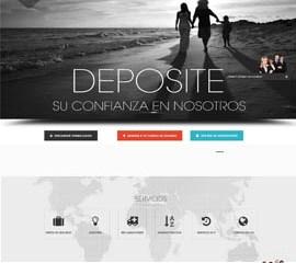 Diseño web Nicaragua, Pagina web para vender.  Coaseguros.net