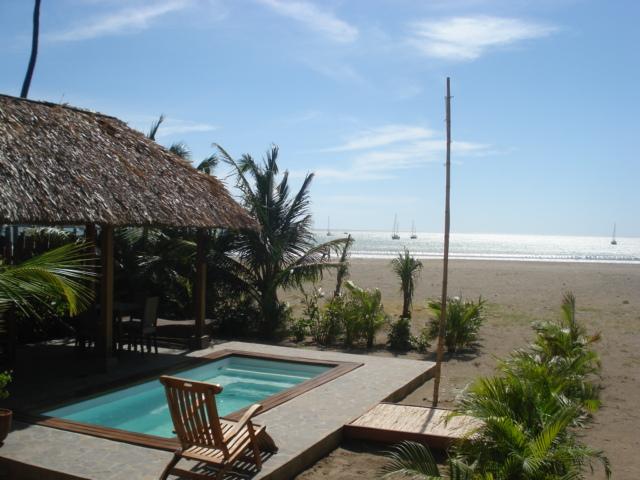 pool from Bambu Beach Club - San Juan del Sur