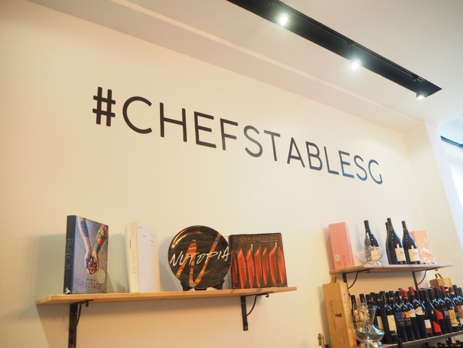Chef's Table Singapore
