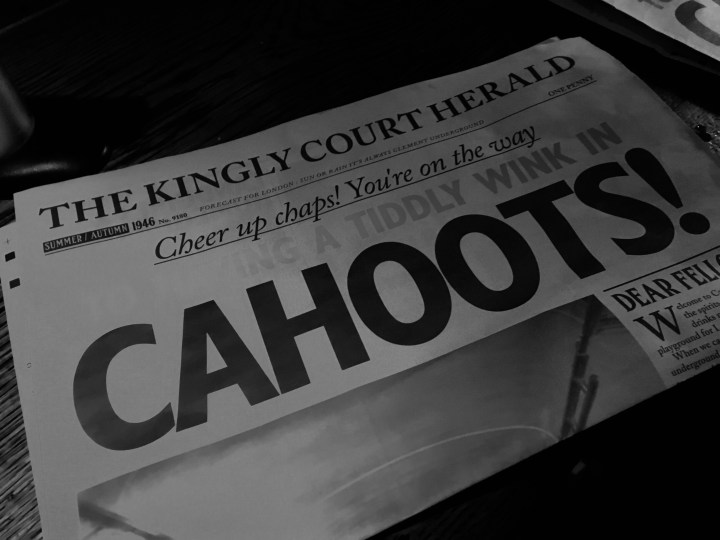 Post-War Vibes and Cocktails at Cahoots, London