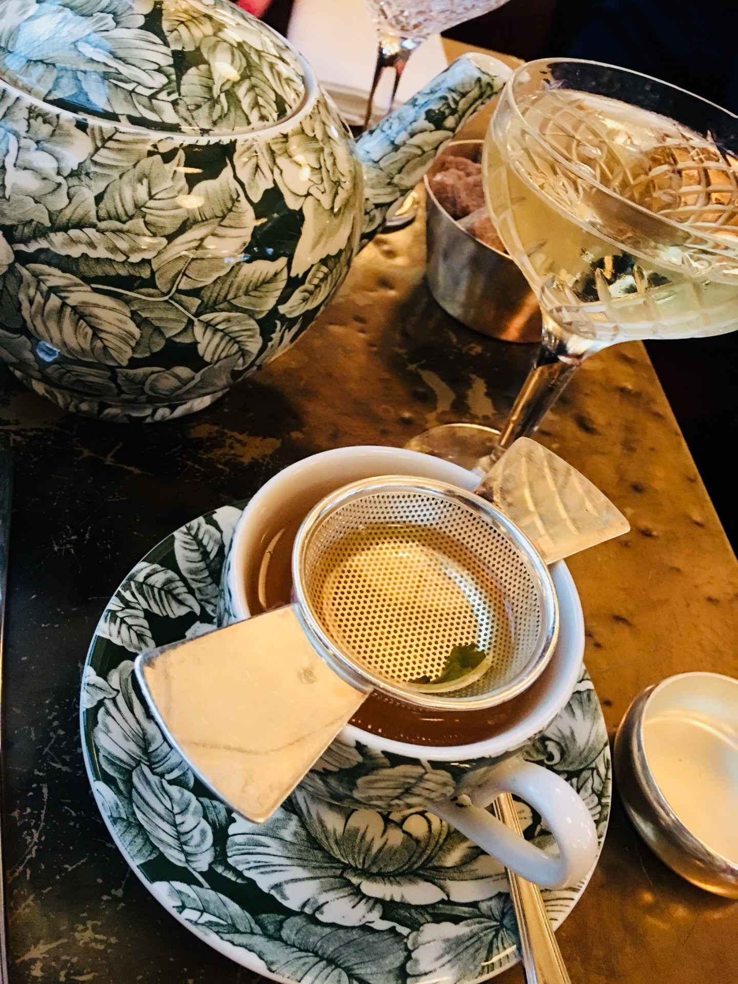 Champagne Afternoon Tea At The Ned, London