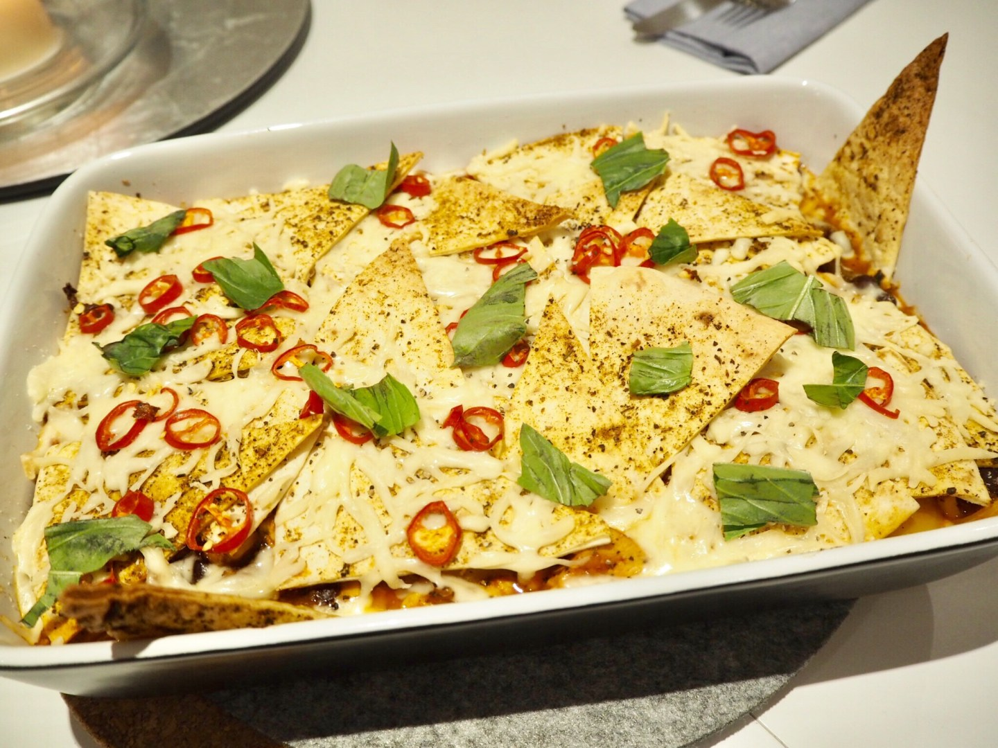 Foodie Therapy: Nacho Chicken Pie
