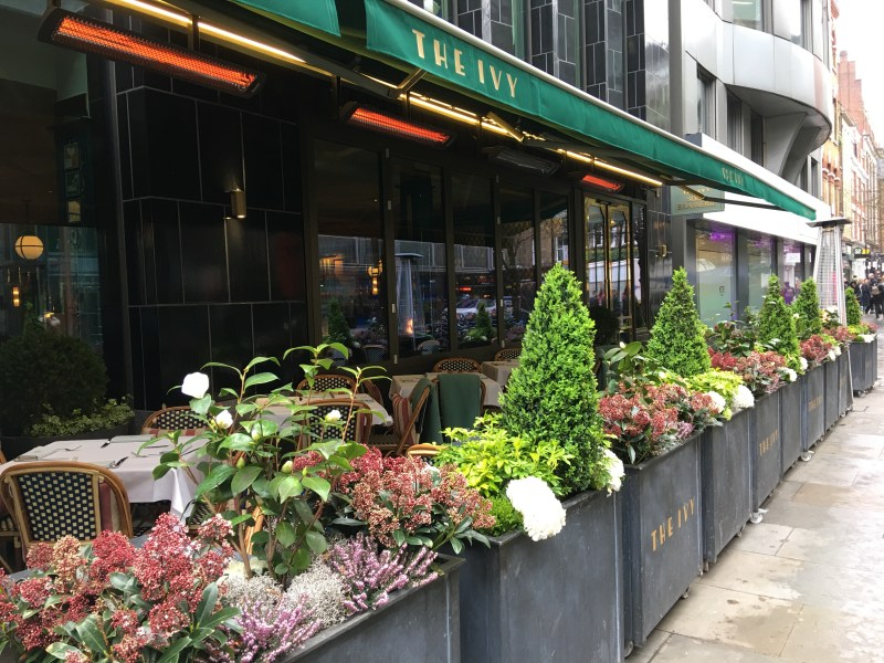 The Ivy Brasserie, Soho London