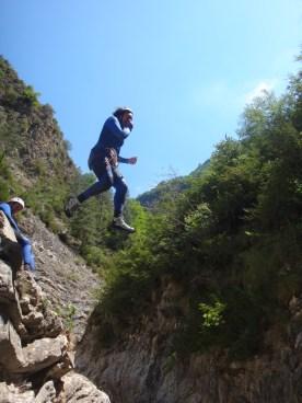 canyon vésubie ludique pour niveau intermédiaire