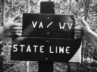 Crossing into West Virginia!