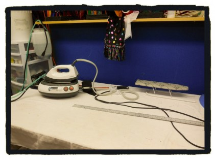 hmm ... something I should put on my Christmas list - a proper Steam Generator Iron!