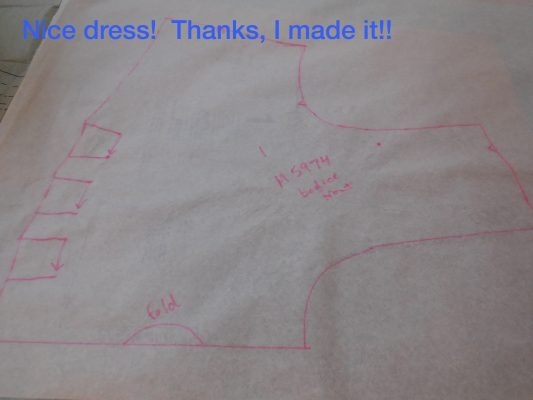 Nice dress!  Thanks, I made it!!