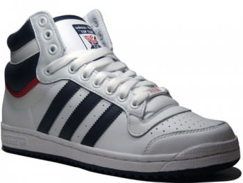 adidas Top Ten Hi White Navy Blue  78373ea01d0b