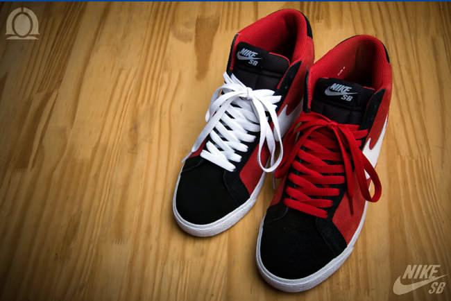 timeless design 7b4d6 3899f Nike SB Blazer High Varsity Red/White-Black | Nice Kicks
