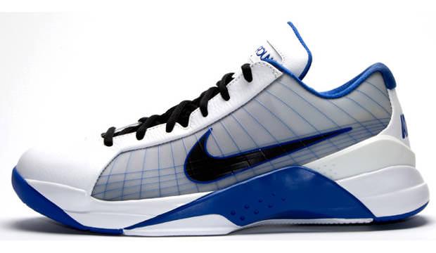 2a9327de0300 Nike Hyperdunk Low White Blue-Black
