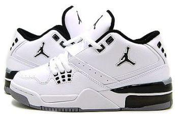 7ea915a54e3b Jordan Flight 23 White Black-Metallic Silver