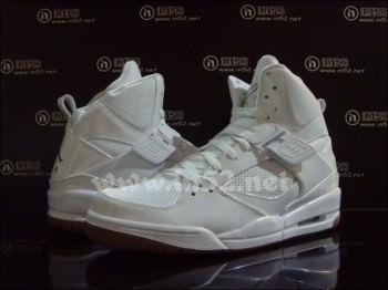 Jordan Flight 45 High White/Gum
