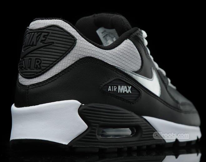 Nike Air Max 90 BlackMetallic Silver   Nice Kicks