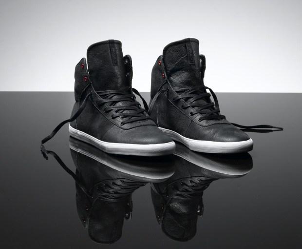 Supra Cuttler Black Leather + Grey Canvas Supra Cuttler c88fadc0fc
