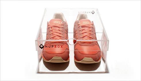 HUPBOX Clear Shoebox