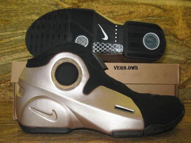 11174269bf36 Nike Air Flightposite II Metallic Zinc