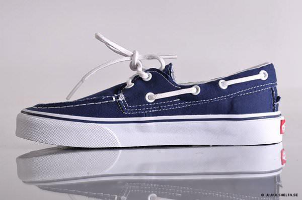 zapatos vans del barco