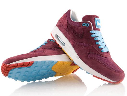 Parra x Nike Air Max 1 Burgundy  d4a8b761c