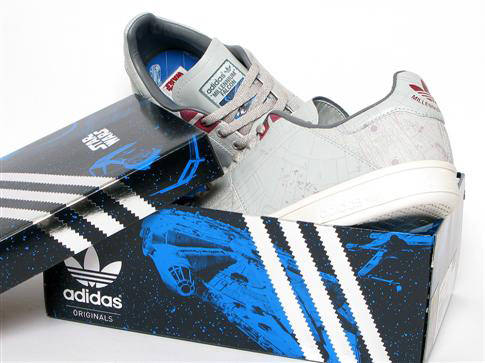 "Star Wars x adidas Originals Stan Smith 80s ""Millennium Falcon"""