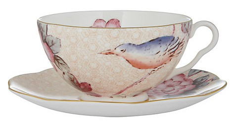 Wedgewood Cuckoo Cup and Saucer