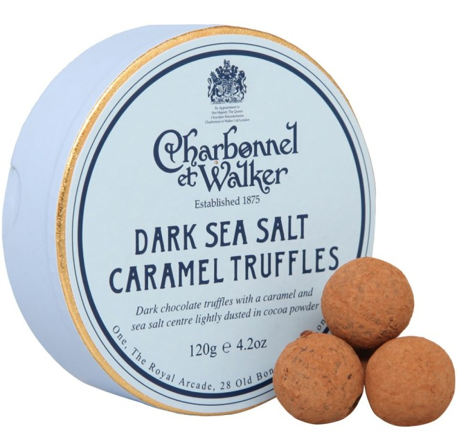 Charbonnel et Walker Dark Sea Salt and Caramel Truffles