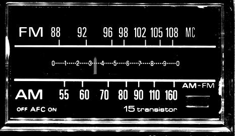 Resultado de imagen para dial de frecuencia modulada