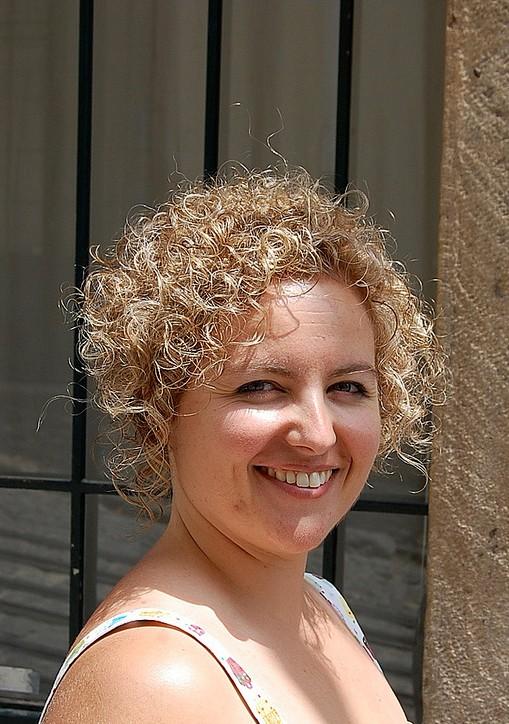 Short Curly Bob Hairstyles Woman Fashion