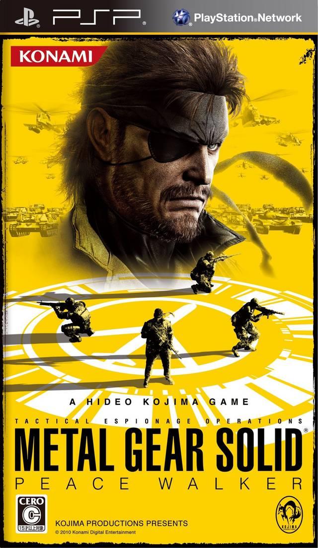 تحميل لعبة Metal Gear Solid Peace Walker psp iso مضغوطة