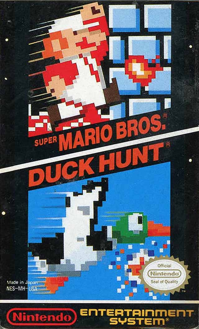 Super Mario Bros  / Duck Hunt (USA) NES ROM - NiceROM com