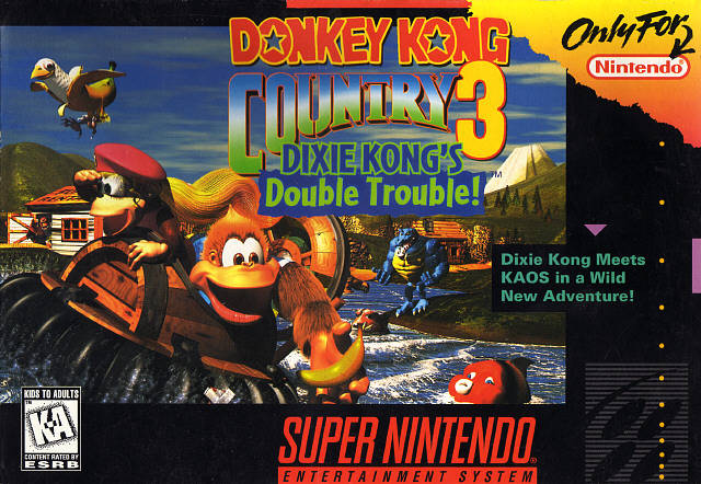Donkey Kong Country 3 Dixie Kong S Double Trouble Usa Snes Rom