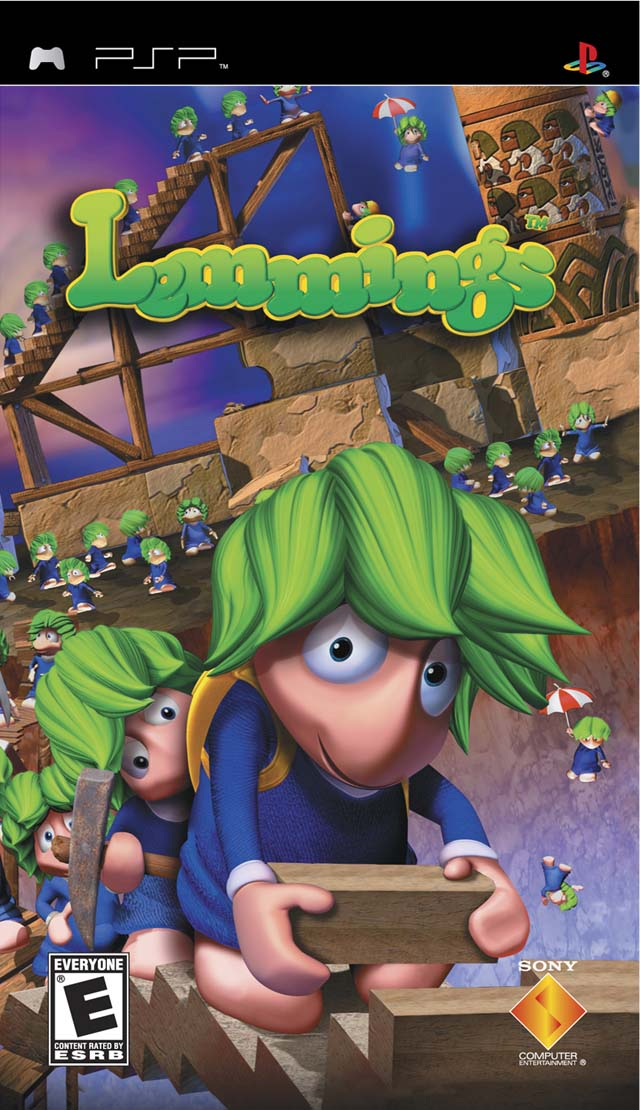 Lemmings (USA) PSP ISO - NiceROM com - Featured Video Game