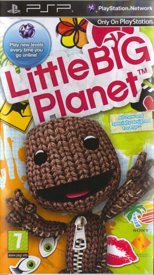 Little Big Planet (Europe) PSP ISO - NiceROM com - Featured