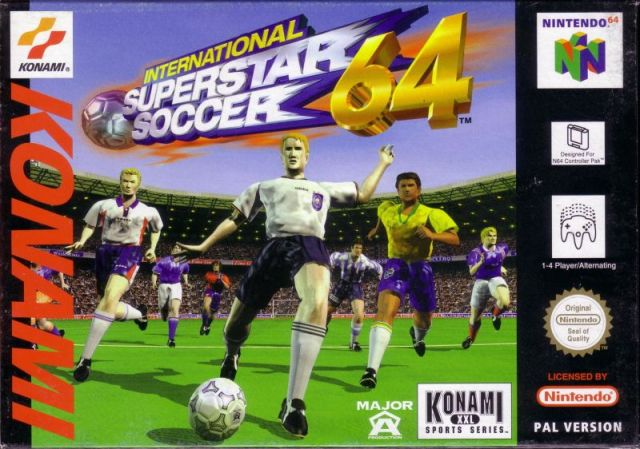 International Superstar Soccer 64 (Europe) N64 ROM - NiceROM com
