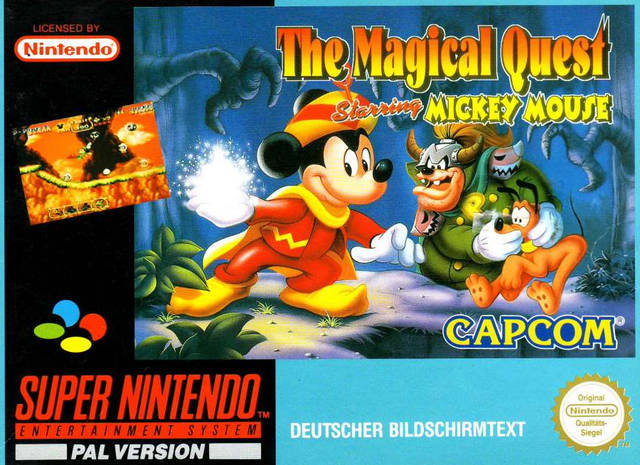 The Magical Quest Starring Mickey Mouse (Germany) SNES ROM