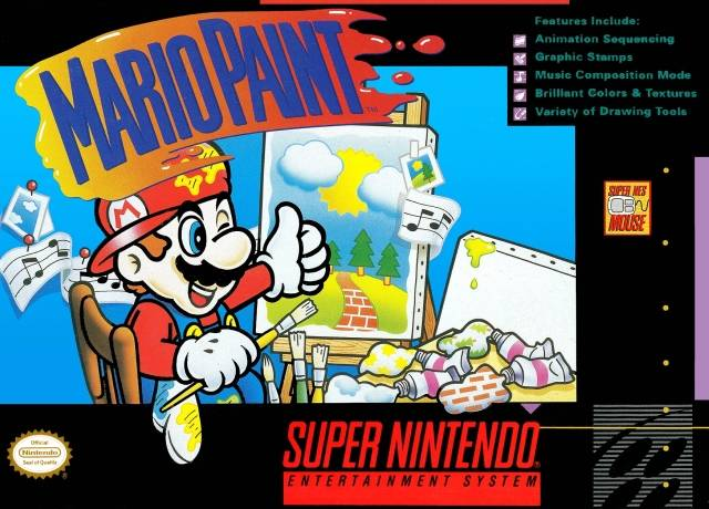 Mario Paint Japan Usa Snes Rom Nicerom Com Featured Video