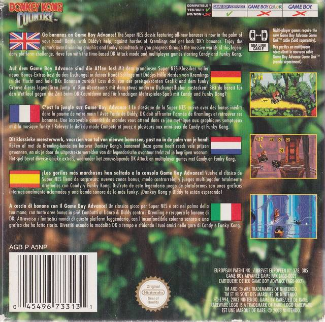 Donkey Kong Country Europe Gba Rom Nicerom Com Featured Video