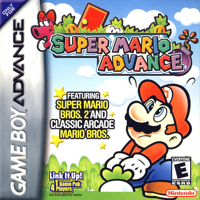 Super Mario Advance Usa Europe Gba Rom Nicerom Com Featured