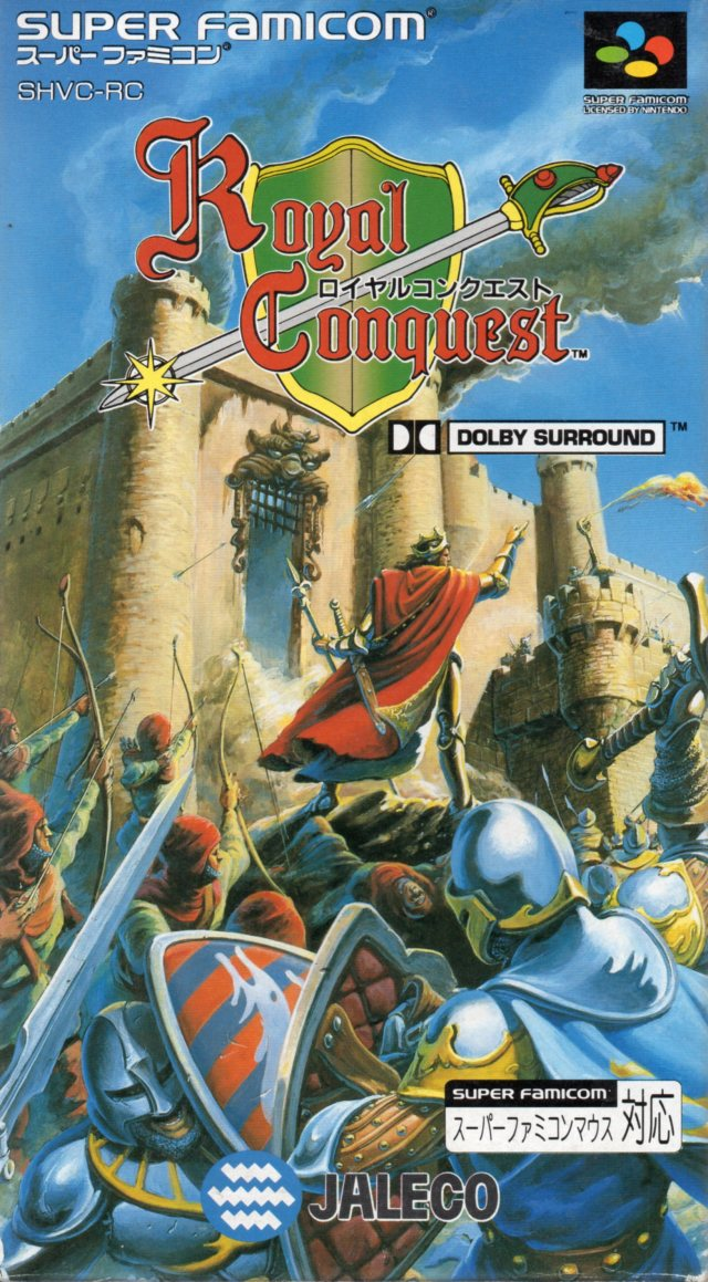Royal Conquest (Japan) SNES ROM - NiceROM com - Featured
