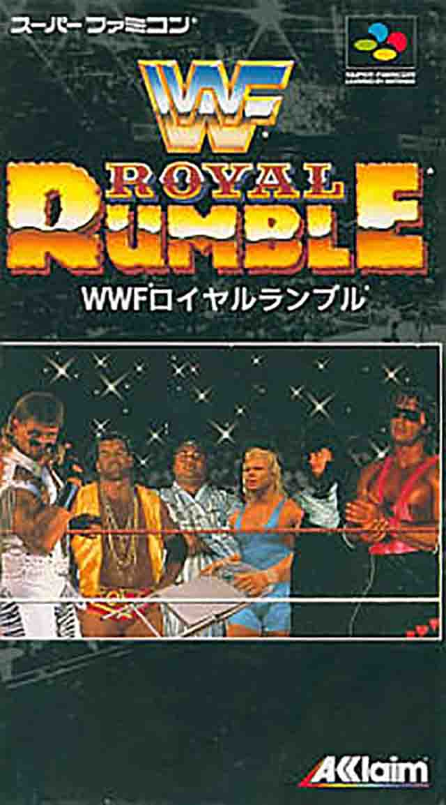 WWF Royal Rumble (Japan) SNES ROM - NiceROM com - Featured