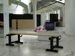 vaggelis artemis NICE VIEW installation and video.2016 / dimitris dokatzis TIME CONTAINER,2016