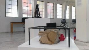 Anna Lascari DREAMING AND WALKING installation, 2016