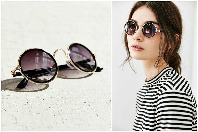 Full Moon Round Sunglasses