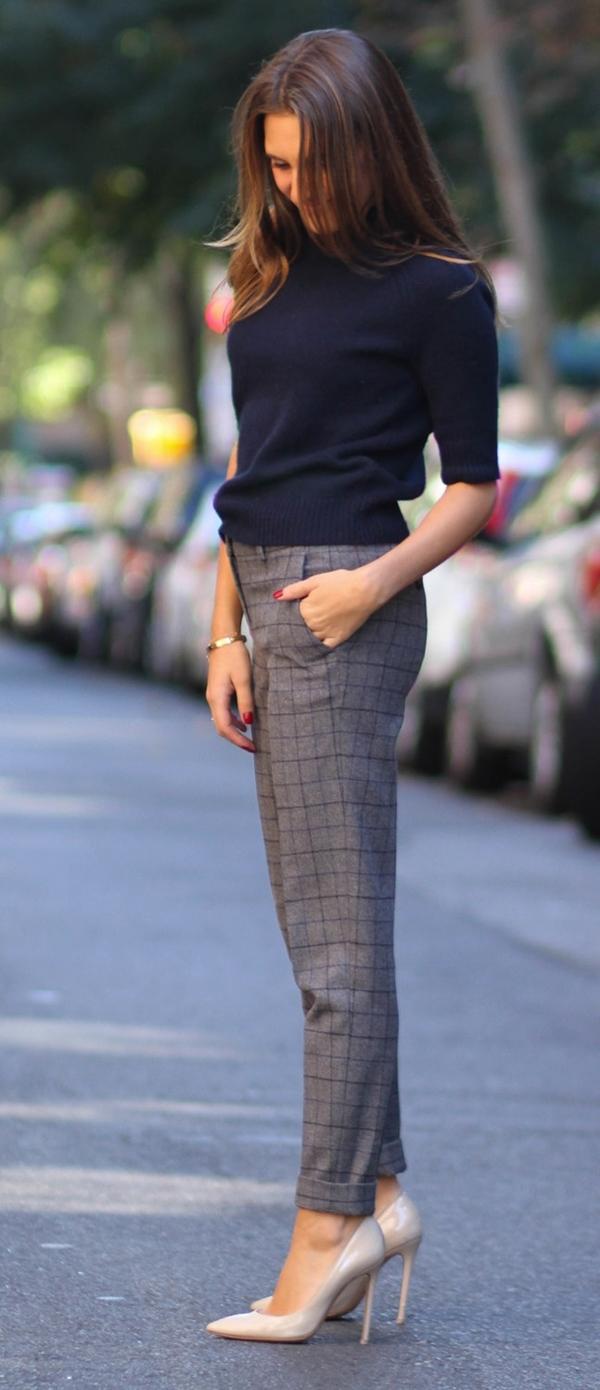 Plaid Pant Outfits