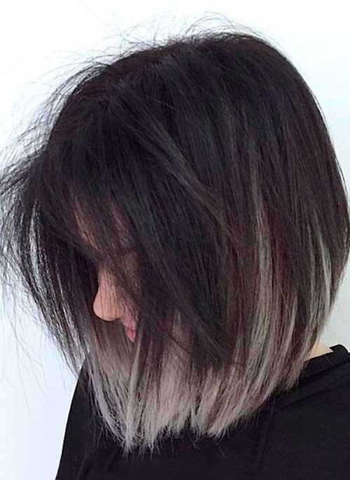 Dark Gray Hair Color