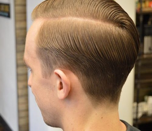 Side Part – Taper Haircut Trends