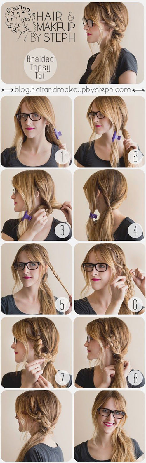 Braided Topsy Tail Tutorial
