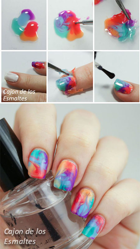Vibrant Nails Tutorial For Summer