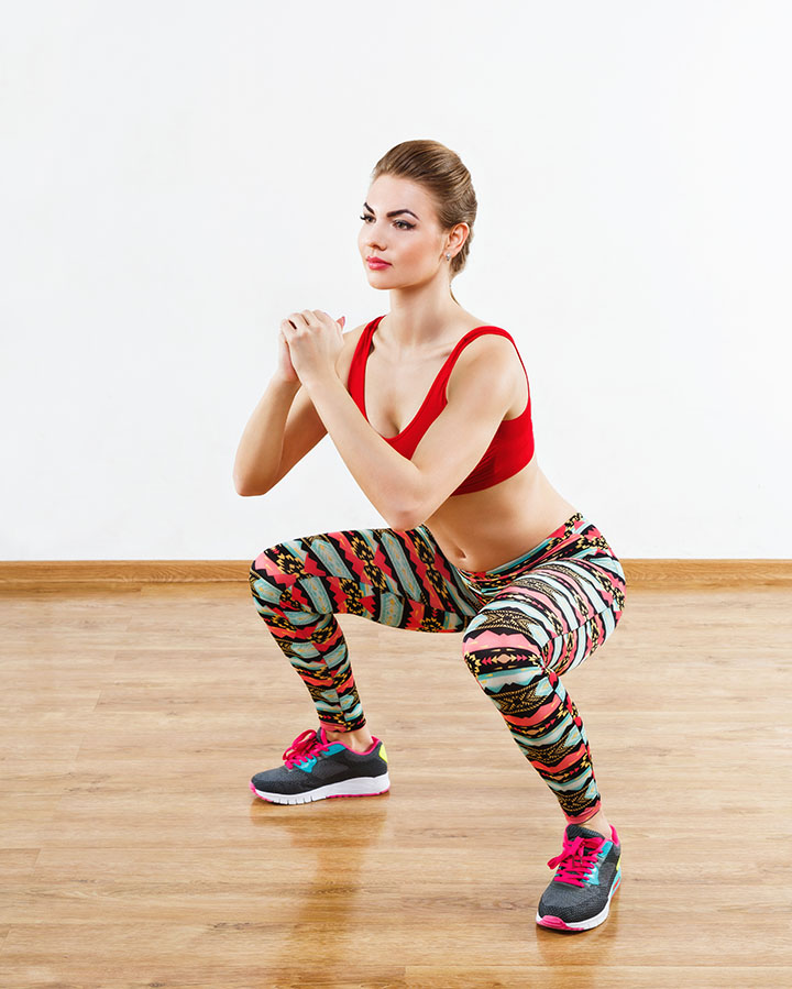 The Squat with a Side Step