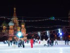 Celebrate the New Year at a Skating Rink at Red Square, Moscow