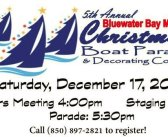 Bluewater boat parade is December 17